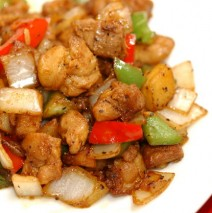 *Black Pepper Chicken