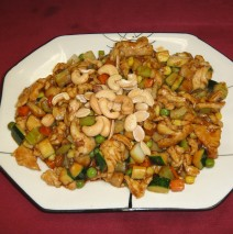 Almond and Cashew Chicken