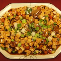 Vegetarian Ma Po Tofu